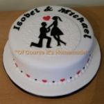Engagment Cake Leeds